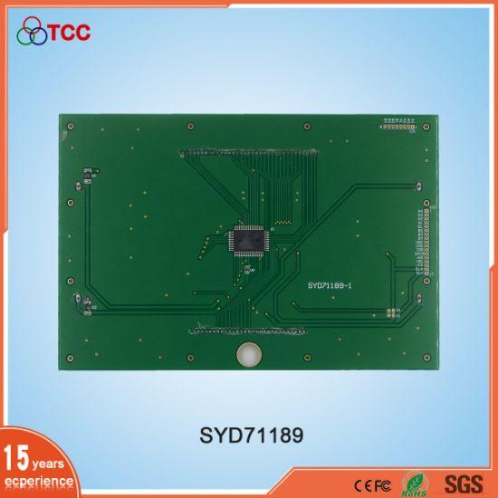 Shenzhen LCD Supplier Hot Sale Custom Design Stn 7segment Monochrome LCD  Display Module
