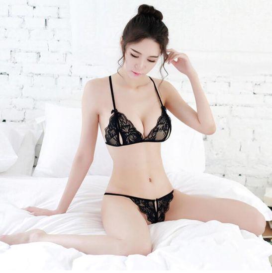 3fc0bde9a China Sexy Fancy Lace Bra and G String Set - China Sexy Bra