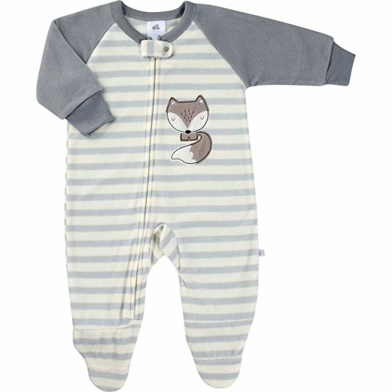 e6cfe54d10 Baby Clothes Boys One Piece Set Blanket Sleeper and Winter Warm Soft and  Cozy Micro Fleece Pajamas