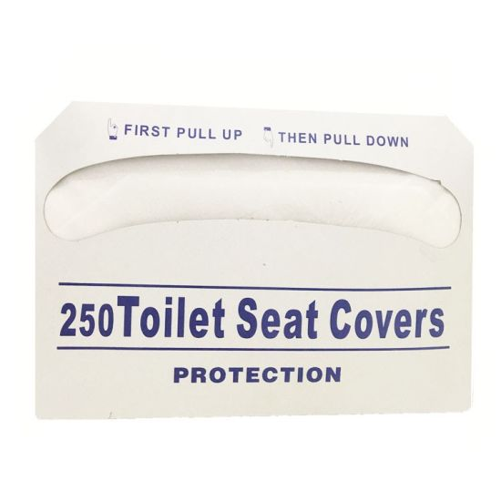 250 Counts 1/2 Fold Disposable Toilet Seat Cover