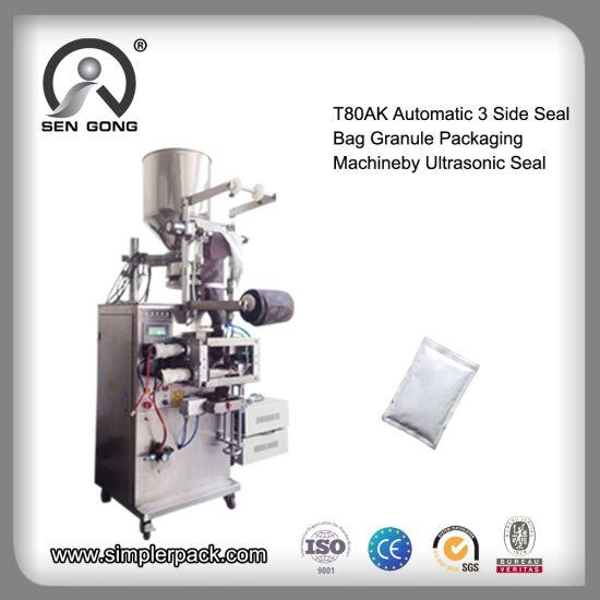 Wholesale T80ak Automatic 3 Side Seal Bag Granule Packing Machine