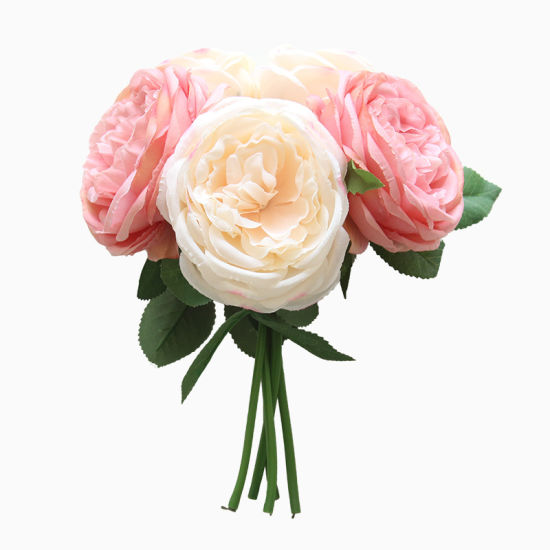 China Wholesale Wedding Flowers Silk Bouquets Of Roses Home