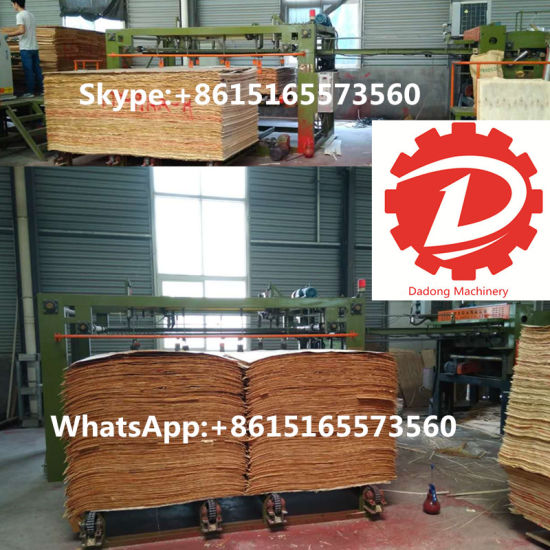 Hot Sale Plywood Core Veneer Splicing Machine CNC Woodworking Machinery pictures & photos