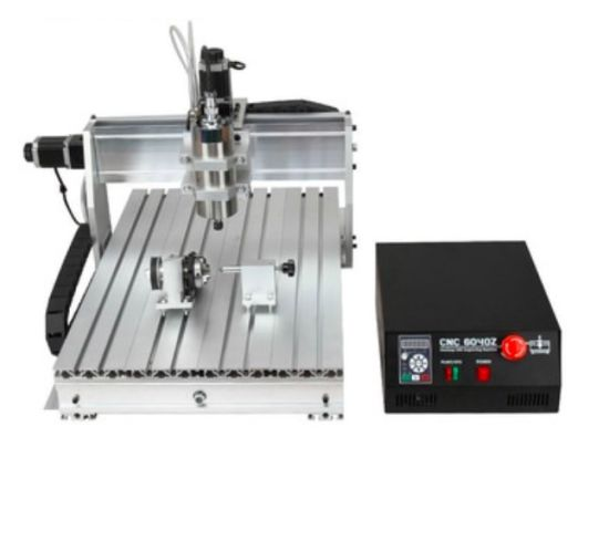 CNC 6040 2.2kw 4axis Router with Mach3 Controller Engraving Milling Machine