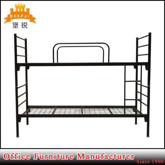 School Furniture Twin Size Steel Frame Bunk Bed pictures & photos