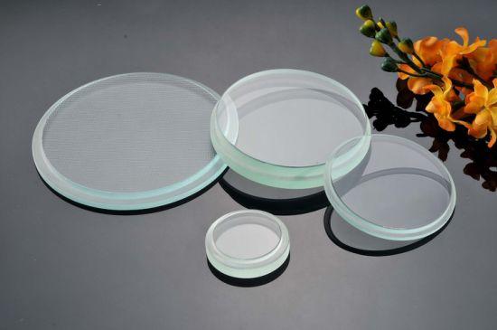 Round Step Glass for Light Cover