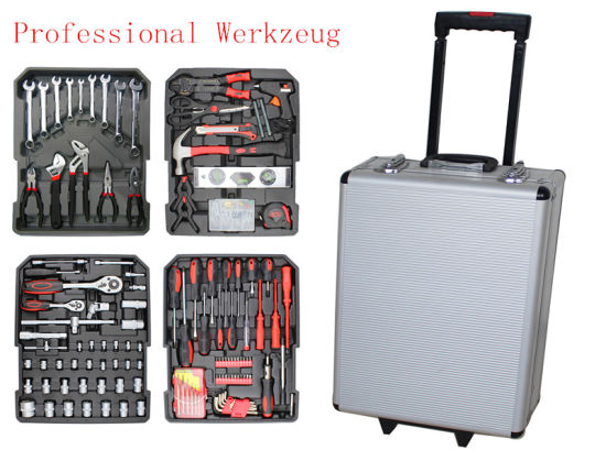186PCS Professional Alumium Werkzeug Tool Kit (FY186A2) pictures & photos