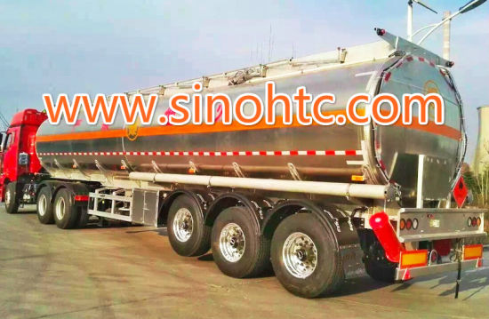 Adr Certificate 5454 Aluminum Alloy Fuel Tank Trailer pictures & photos