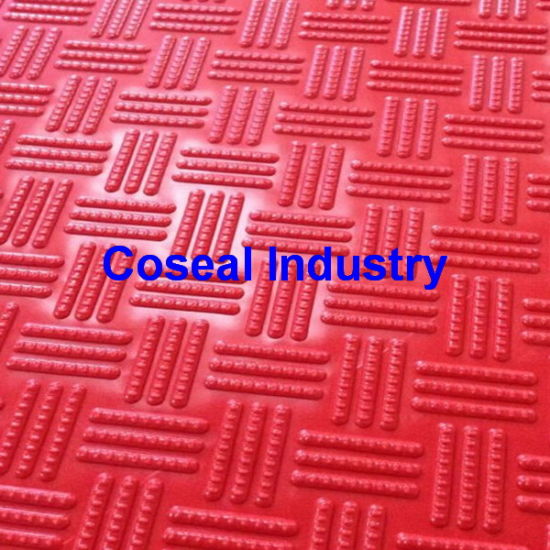 Anti Slip Checker Plastic PVC Sheet Rubber Sheet Rubber Mat