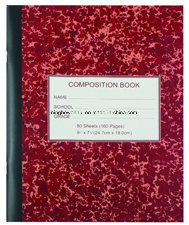 Custom Printed Composition Notebooks School Excise Book pictures & photos