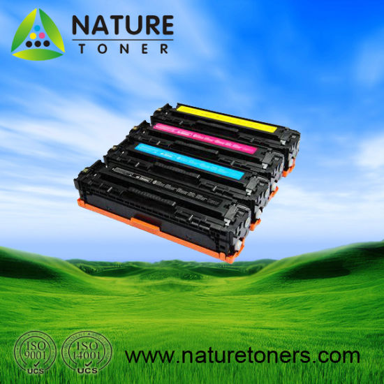 Color Toner Cartridge CB540A-3A/CE320A/CF210-3A Universal for HP Printer
