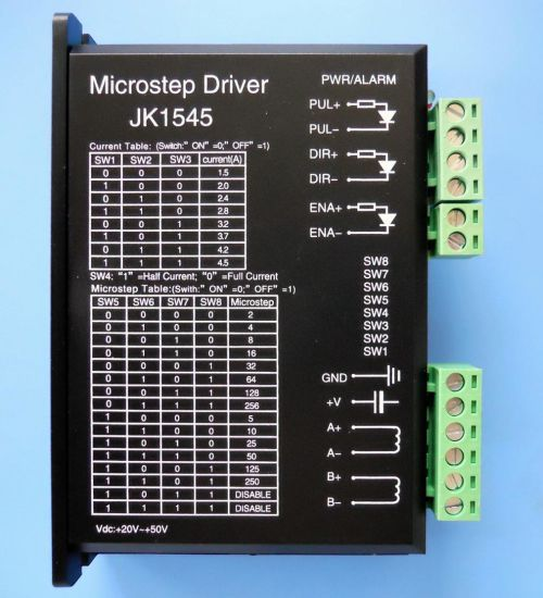 2 Phase Stepper Motor Driver for NEMA23 Stepper Motor pictures & photos