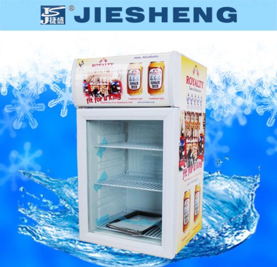 Counter Top Display Beverage Cooler Sc-55L
