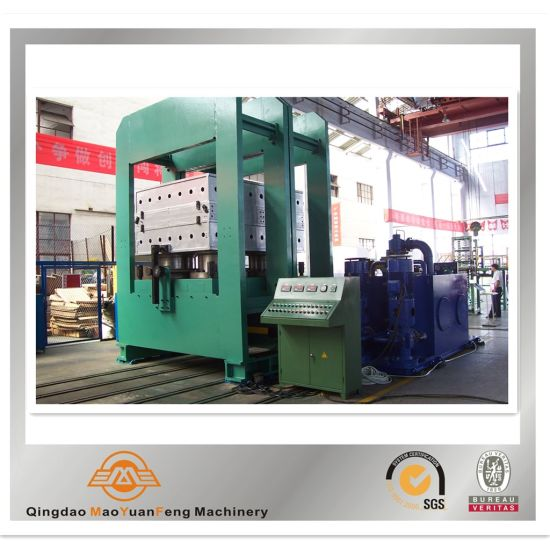 Automatic Rubber Frame Type Plate Hydraulic Vulcanizing Curing Press with ISO BV SGS pictures & photos