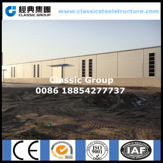 2019 SGS ISO9001 Quality Large Span Pre Engineered Steel Structure Warehouse Building