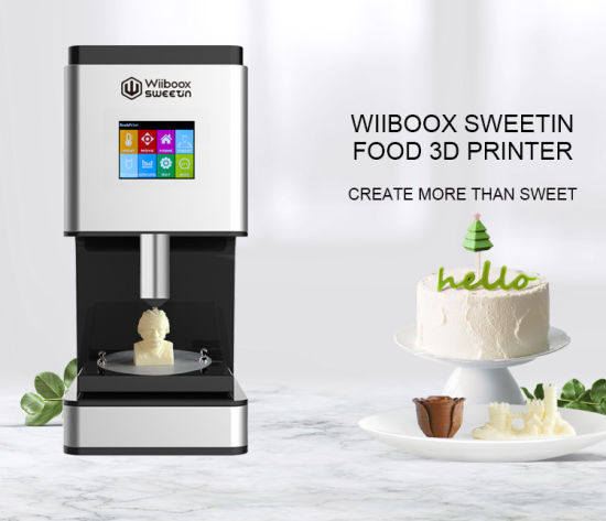 Wiiboox Factory Price New Design Home Use Food Chocolate DIY 3D Printer pictures & photos