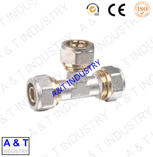 Brass Pipe Fitting (elbow tee coupling)
