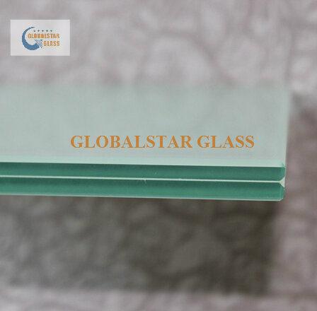 8.38mm, 10.38mm, 12.38mm Float Glass/ Safety Glass/ White Glass/ PVB Glass/ Milk White Laminated Glass