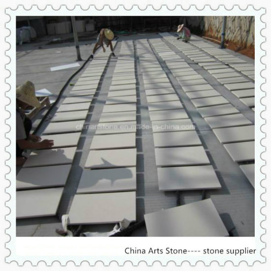 Granite/Marble/Quartz White Limestone Moca Crema Wall Tile pictures & photos