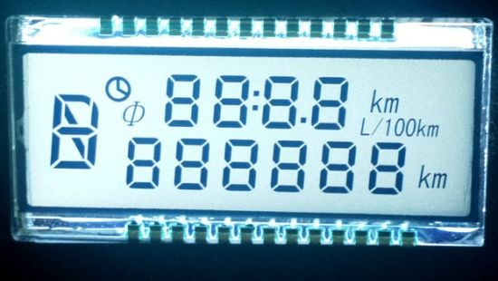 Alphanumeric LCD Display for Temperature Controller pictures & photos