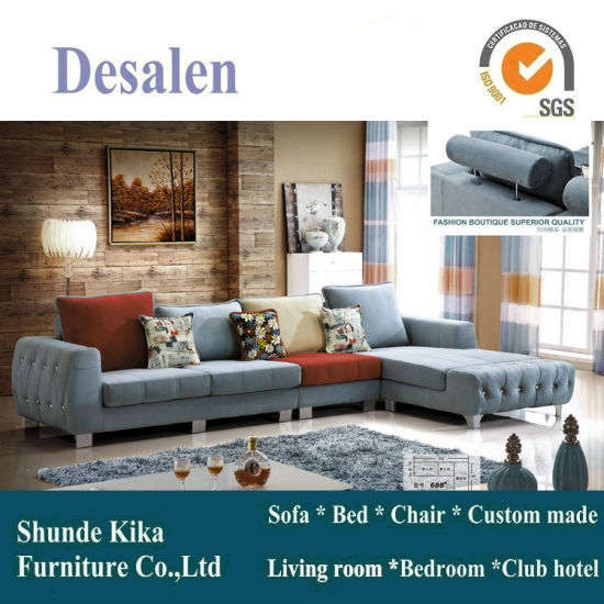 Modern Fabric Sofa Furniture, Sofa Factory in China (688) pictures & photos