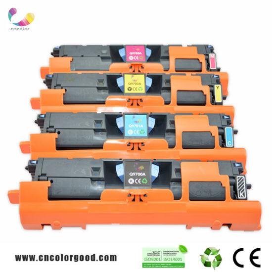 Compatible 9700A Color Toner Cartridge for HP Printer