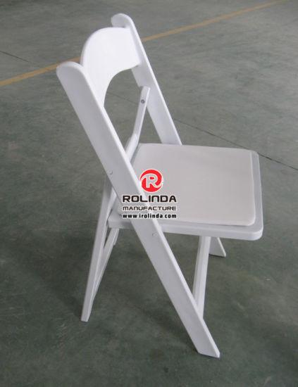 Wholesale Wooden Plastic Wedding Garden Home Folding Chair