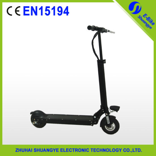 2015 New Design 2 Wheels Adult Electric Scooter pictures & photos