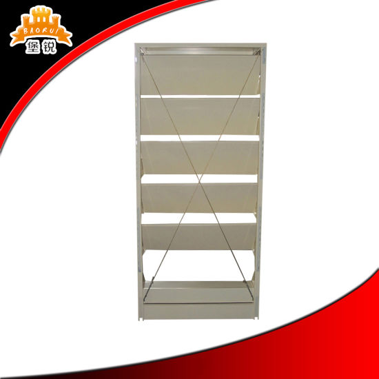 Single Section Metal Magazine Shelf pictures & photos