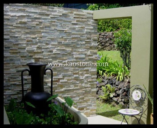 China Slate Building Stone for External Facade, Decorative Facade ...