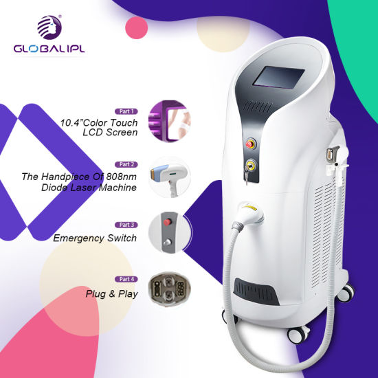 2018 Best Professional Diode Laser 808 Hair Removal Beauty Machine