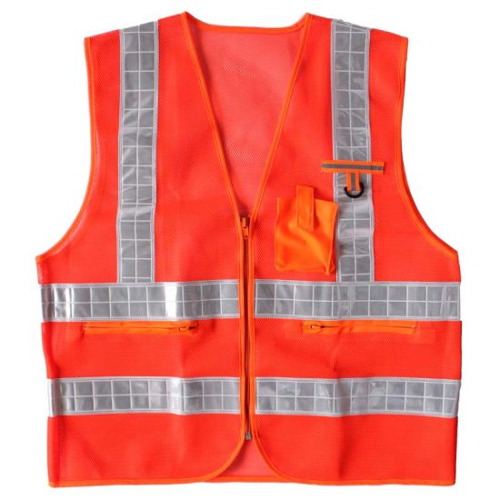 Red Reflective Summer Safety Clothing pictures & photos