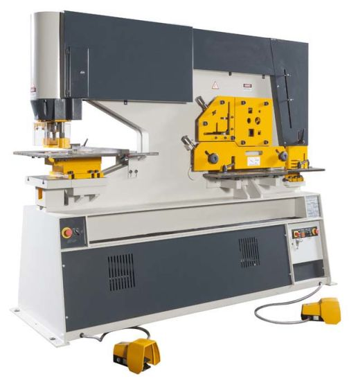 Hydraulic Ironworker for Punching, Cutting, Bending and Notching pictures & photos