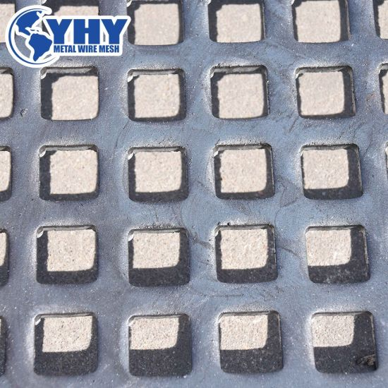 High Carbon Steel Perforated Sieving Crusher Mesh Screen