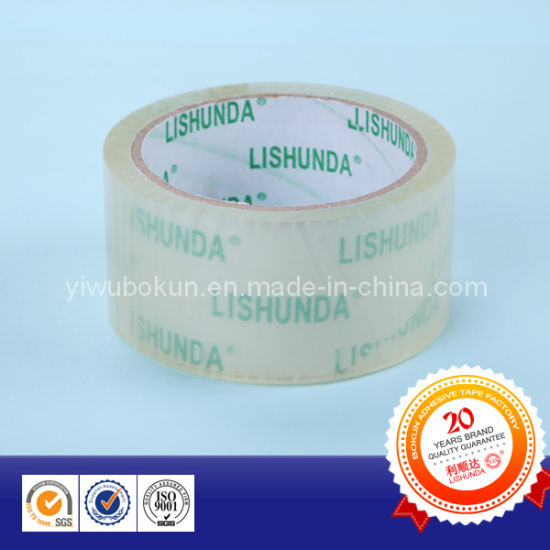 Transparent BOPP Packing Tape pictures & photos