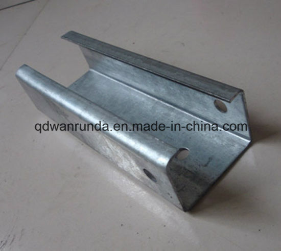 HDG C Steel Channel with Holes pictures & photos