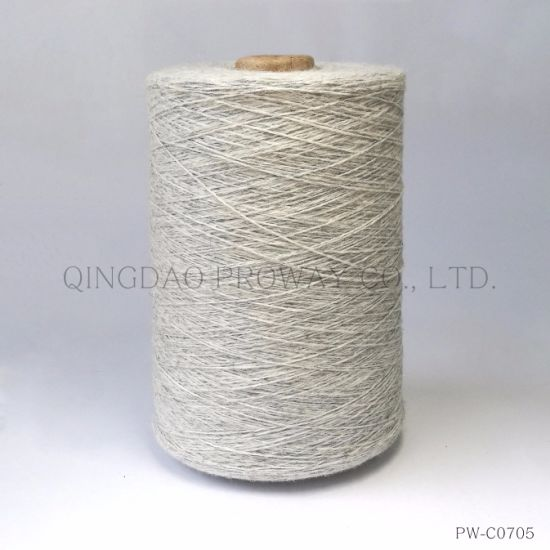Melange Colored Woolen Yarn in Composition of Cotton/Nylon/Wool/Alpaca pictures & photos