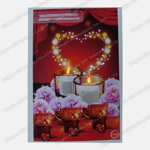 LED Music Cards, LED Paper Cards (S-1103)