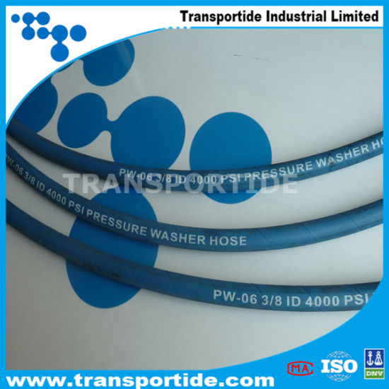 Rubber Hydraulic Hose SAE 100 R1at 3/8′′ 3/4′′ pictures & photos