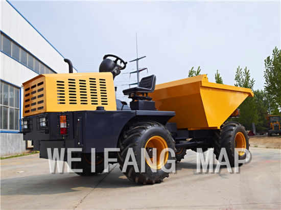 3ton Site Dumper with Cabin or Sunshade pictures & photos