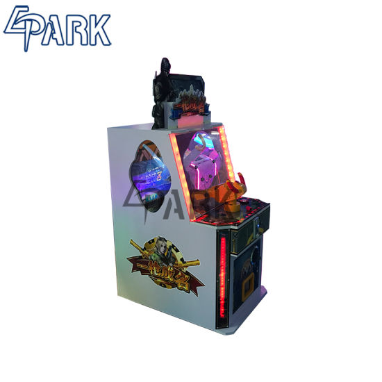 Children Gun Shooting Game Coin Operated Capsule Prize Machine