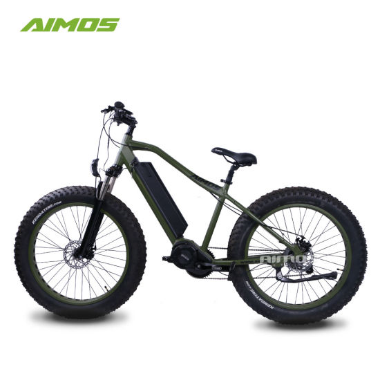 Dirt Electric Bike Fat Tire Central Drive Motor Electric Bicycle pictures & photos