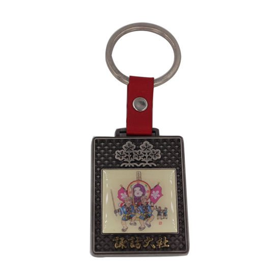 Zinc Alloy Souvenir Keychain with Mini Gitar pictures & photos
