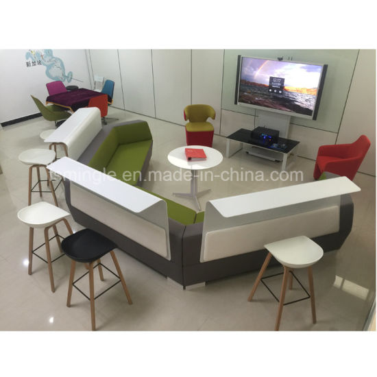 china leisure office furniture customized fabric sofa for waiting