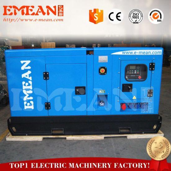 Silent Type 20kw Fuelless Deutz Diesel Generator for Sale