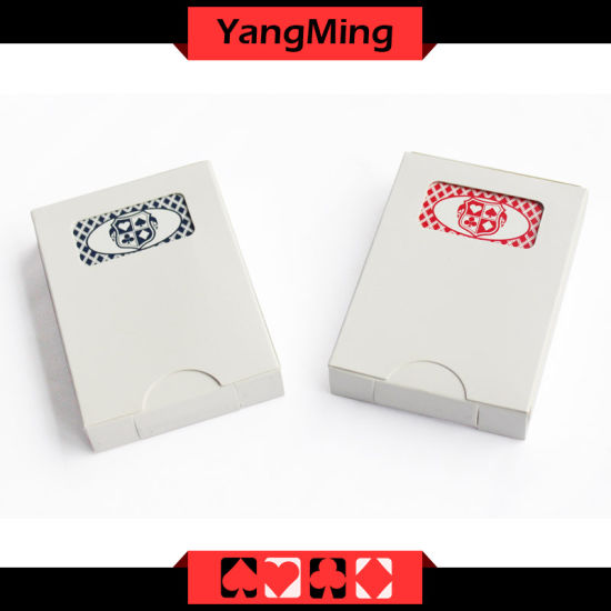 MOQ 5K Casino Custom Playing Card Casino Black/ Blue Core Paper Manufacturer Custom Trading Cards (YM-PC03) pictures & photos
