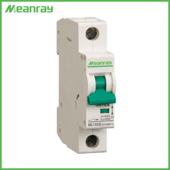 China IEC Ce Approved 3p Electrical DC 63 AMP MCB 3 Phase Air ...