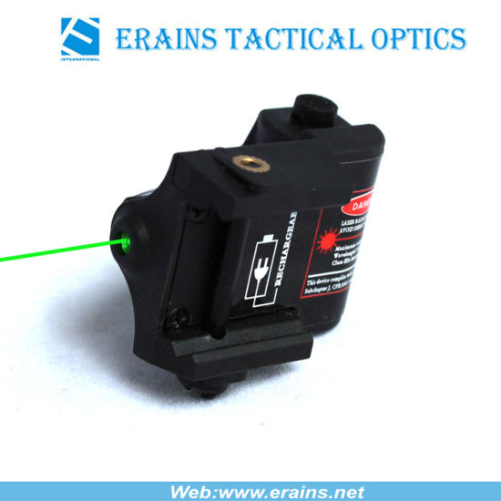 Super Compact FDA Certifited Rechargeable Pistol Green Laser Sight (ES-XL-OXG) pictures & photos