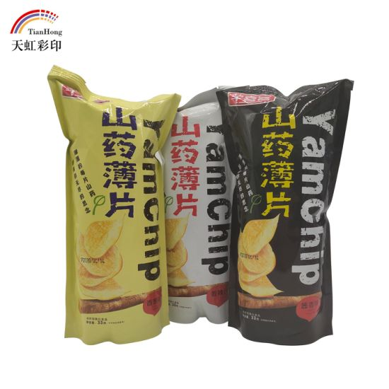 BOPP Material Potato Chips Packaging Bag