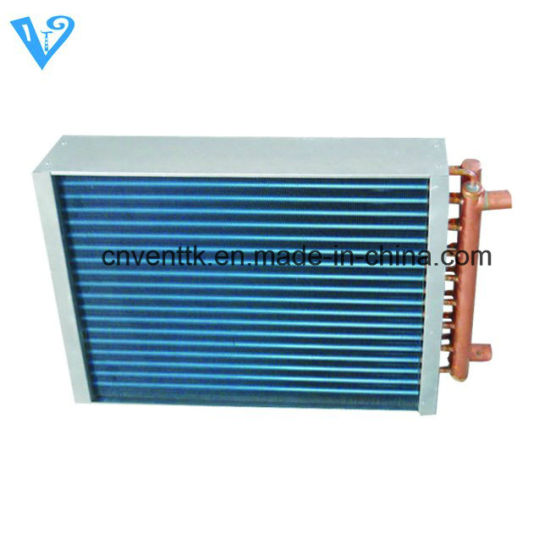Good Quality R134A Refrigerant Copper Tube Fin Heat Exchanger pictures & photos